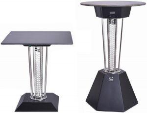 vyhřívaný stolek Galavito model RESTO a BISTRO DUO