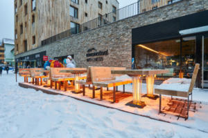 Infra topení v Après-Ski bar u Svatého Vavřince