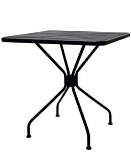 Kovový stolek venkovní