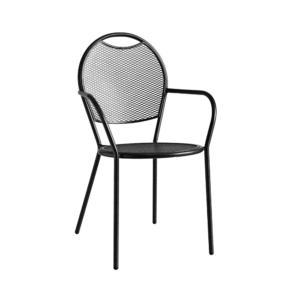 Celokovová židle celokovová pro restaurační předzahrádku a terasu