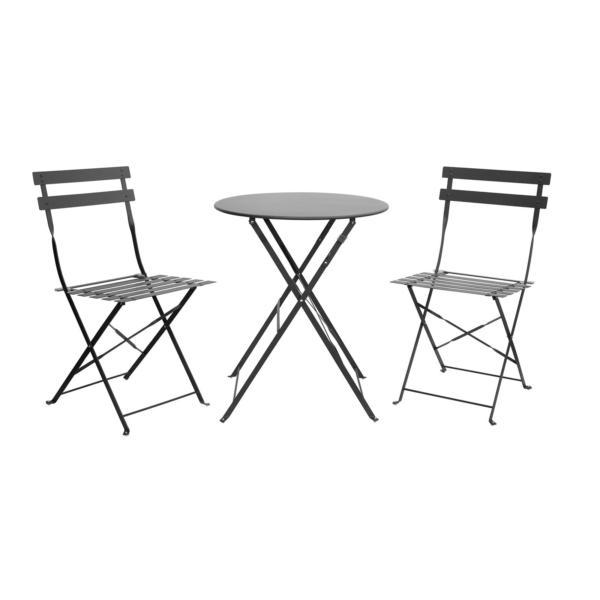 skládací stolek a židle