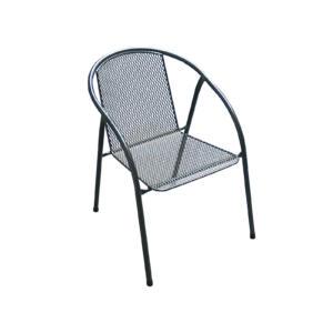 zahradní kovová židle z tahokovu