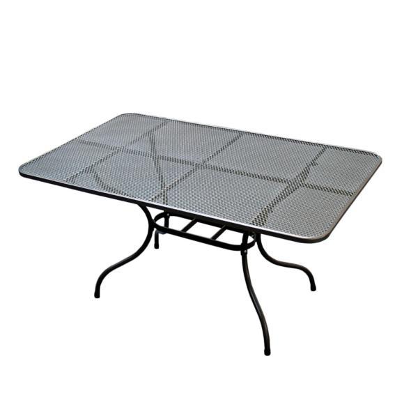kovový zahradní stolek tahokov